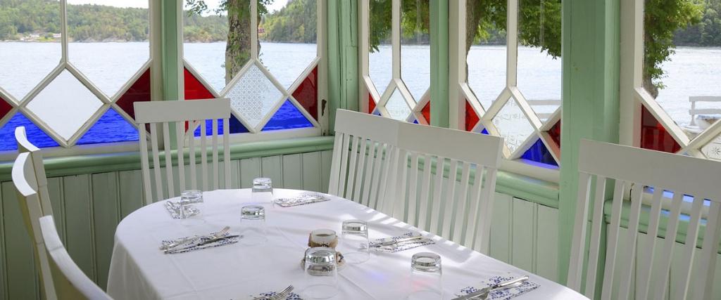 Sommerrestaurant - glassveranda